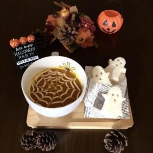 ハロウィンに・・定番かぼちゃのスープ☆
