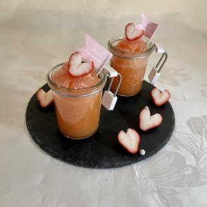 フロリダグレープフルーツ de ひんやりピンクゼリー♡