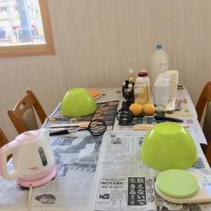 葡萄樹液の石けん教室(福岡春日原)