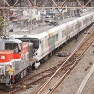 E257系NA-06編成総合車両製作所出場