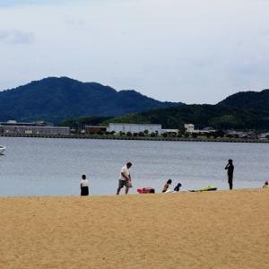 今日の津田海水浴場