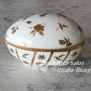 また1つお気に入りが完成・・ゴールド好きが作る華やかな小物入れ