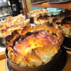 スペインで食べた本場のバスクチーズケーキ