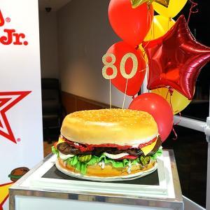 Carl's Jr 80th anniversary event