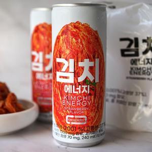 Kimchi Energy drink strawberry flavored kimchi juice