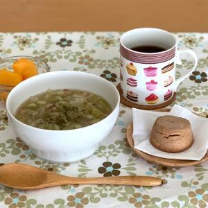 プチプラで見つけた理想のスープ皿と今日の朝ごはん