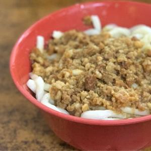 ひとりっぷ台北VOL.4 台北の二郎系!?ディープな市場内でジャージャン麺