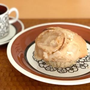 チーズケーキみたいな豆乳マフィンの朝ごぱん