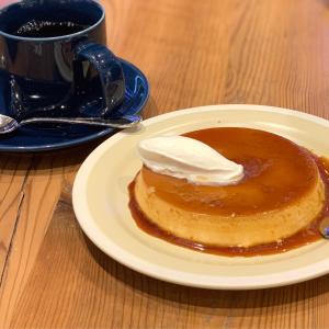 デザートに大きなプリン!夜はごはんセットがお得なキハチカフェ