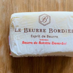 おいしさに感激したボルディエの有塩バター