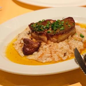 フォアグラがのったリゾットが悶絶級の美味しさ!久々の人気ビストロでディナータイム