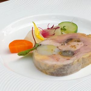 恵比寿の王道フレンチレストランで優雅なランチタイム