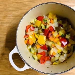 夏の常備菜 塩ラタトゥイユ