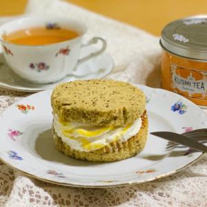 ファミマの新作はオレンジの爽やかな味わい!アフタヌーンティー監修オレンジアールグレイの紅茶シフォンサンド
