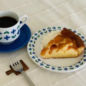 DEAN&DELUCAのアプリコットパンケーキで朝ごぱん