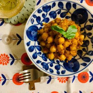 たんぱく質豊富なひよこ豆でスパイスツマミ