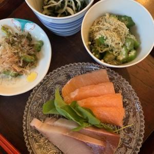 お刺身 など 夕食シリーズ