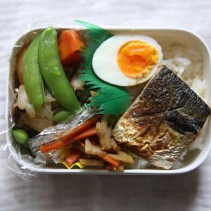 カレー焼き鯖弁当
