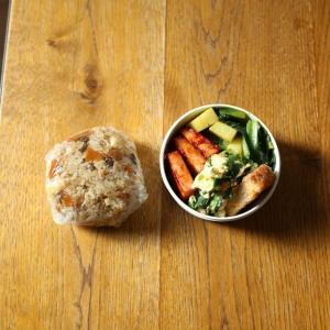小松菜とじゃがいも炒め弁当・外注お食い初め膳