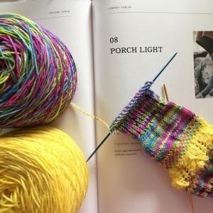 porch Light編み始め