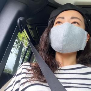 暑くなってきたので、布マスクにシフトしました