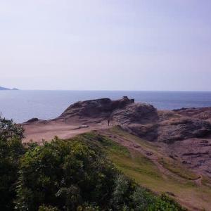 元乃隅神社と角島