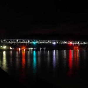 とびしま海道、 蒲刈の夜の風景