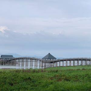 青森観光 鶴の舞橋