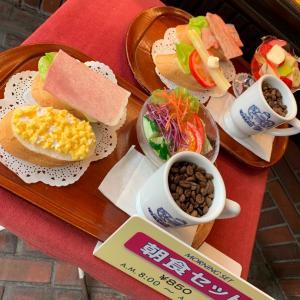 神戸モーニングとおいしい食べ物