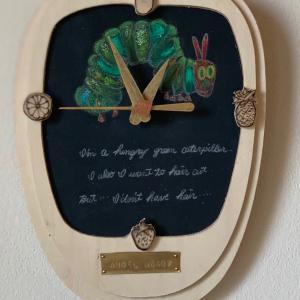 手作りの壁掛け時計