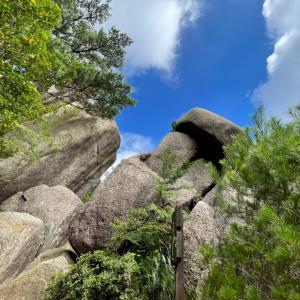御在所奇岩巡り登山