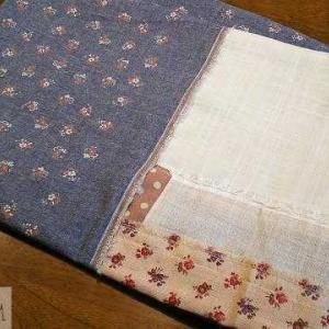 柔らかめのはぎれが30cmあったら、タオルを作ろう