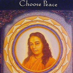 【本日のメッセージ】平和を選ぶパラマハンサ・ヨガナンダ平和である事を選択す...