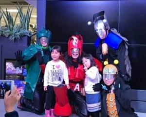 クレオ大阪中央フェスタにおかたづけゲームとエーヤンダー!