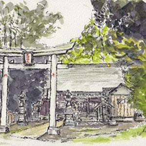 我が家の界隈の産土神社