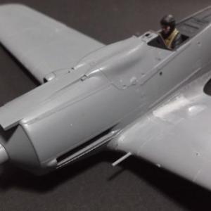 1/48 フォッケウルフFw190D-9の製作 (その5)