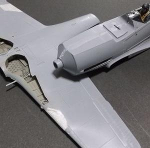 1/48 フォッケウルフFw190D-9の製作 (その4)