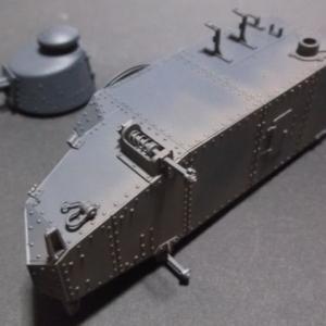 1/35 ルノーFT-17の製作 (その11)