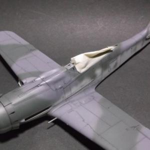 1/48 フォッケウルフFw190D-9の製作 (その8)