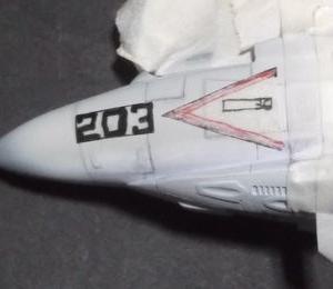 F3H-2N/M デモンの製作 (その14)