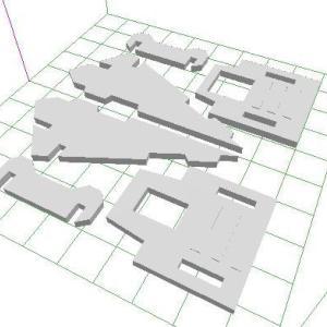 3Dプリンタで自作データを出力してみた