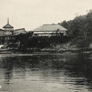 和洋式が融合した松島パークホテル(大正4年)