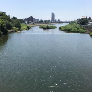 七郷堀の水の流れをたどる(愛宕大橋~土橋~南染師町)