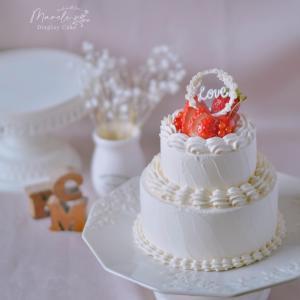ケーキを飾ると幸せになれる