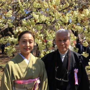 ●4月13日、「桜を見る会」に初参加