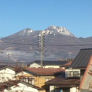 妙高山の冠雪