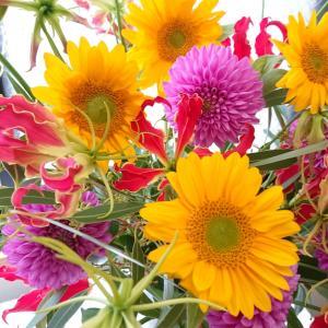 花から刺激