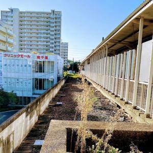 南千里駅の廃線跡