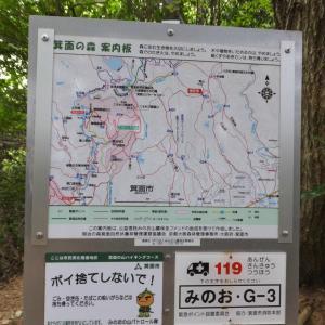 勝尾寺南山へ