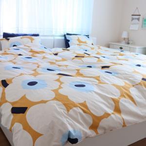 ⋆⋆【寝室全景】マリメッコの魅力溢れた寝室が遂に完成⋆⋆